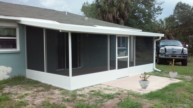 Composite Roof Lanai In North Port Fl All American